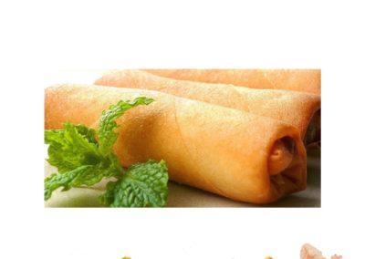 Rouleaux légumes